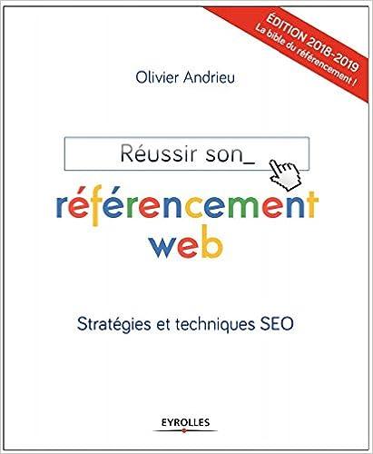 couverture du livre Réussir son référencement Web