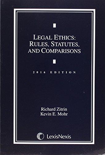 Legal Ethics:Rules,Stat.Comparisons