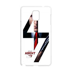Quotes protective Phone Case Hitman Agent 47 For Samsung Galaxy Note 4 N9100 NP4K02681