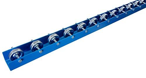 Conveyor Rails | Flow Rail 5′ Long Skate Wheel Conveyor | T5 Flow Rack System
