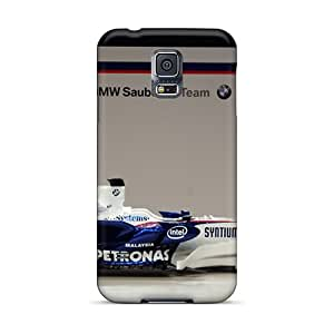 New Arrival Cases Covers With HaM3407SZoM Design For Galaxy S5- Bmw Sauber F1 Side View Black Friday