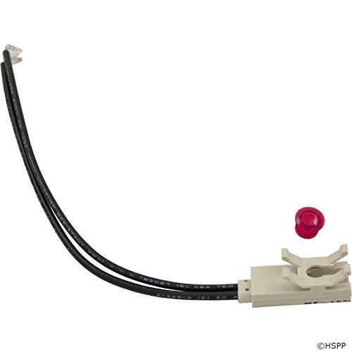Horizon Spa & Pool Parts Indicator Light, 115v, 1/4 Hole Size, Red