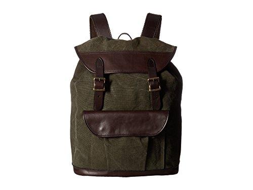 Filson Unisex Rugged Canvas Rucksack Otter Green Backpack