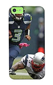 Honeyhoney Case Cover Protector Specially Made For Iphone 5c Seale Seahawks Nfl Football Sport X
