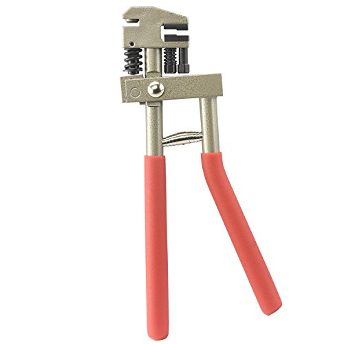 Neiko 40410B Hand Flange Punch and Crimping Tool, Swivel Head | 7/8'' (22mm) Crimp, 15/64'' (6mm) Punch | Punches 18 GA Steel by Neiko (Image #1)
