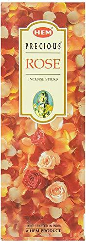 - YARLIO Hem Precious Incense Sticks, Gulab (Rose), 120 Count