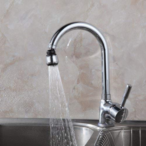 PerfectPrice All-Direction Faucet Aerator Splash Nozzle - Silver by PerfectPrice