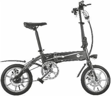 Cityboard Tourneo Bicicleta Eléctrica, Unisex Adulto, Blanco/Negro ...