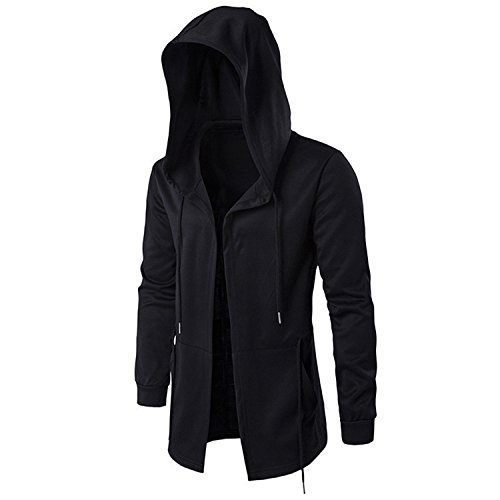 Richard Nguyen New Hoodies Men Black Cardigan Hoodie Men Hooded Mantle Assassin Creed Clothing M-5Xl Hoodies Outerwear -