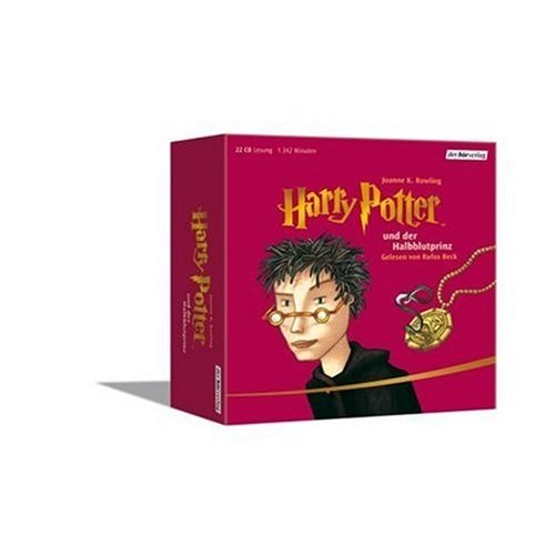 Harry Potter und der Halbblutprinz - 22 Audio Compact Discs (German audio edition of Harry Potter and the Half-Blood Prince) (German Edition)