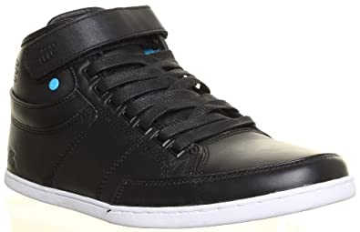 SV Boxfresh Swich Mens Leather Lace Up Hi Top Boots Velcro