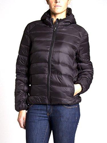 899 451 Pour Blouson Jeans Noir Couleur Unie Manche Normale Longue Femme Carrera Taille 1PFqwUEwx