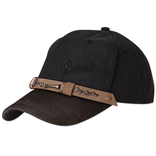 - Outback Trading Equestrian Cap Black