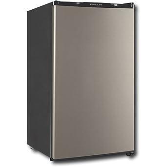 refrigerator 8 cu ft. frigidaire - 3.3 cu. ft. compact refrigerator silver 8 cu ft