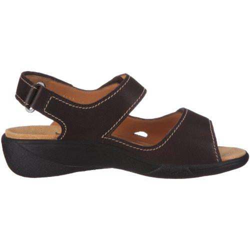 Ganter Hera, Weite H 1-205811-2000 - Sandalias de vestir de cuero para mujer Marrón