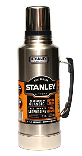 Stanley Classic the Legend Extra Large Vacuum Bottle 2 Qt Stainless Steel...