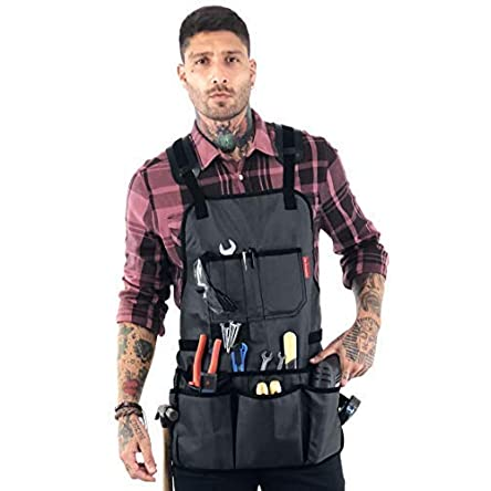 Under NY Sky Tool Apron – Magnetic Tool Holder –...