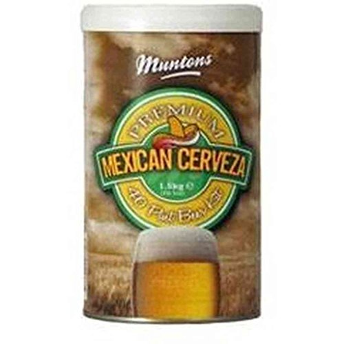 [Muntons Mexican Cervesa Beer Making Kit, 53-Ounce Can] (Hopped Extract)