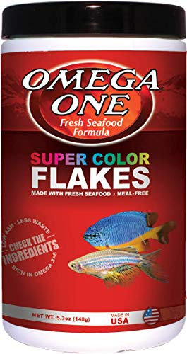 OMEGA One Super Color Flake 5.3oz, Fresh seafood formula