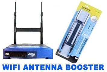Cisco Linksys Router Antenna / Wifi Antenna comes with two antennas + brace  bracket kit for a stronger internet connection signal  7dbi TNC internet