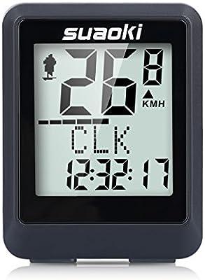 SUAOKI 9500 - Ciclocomputador Ordenador Digital para Ciclismo ...