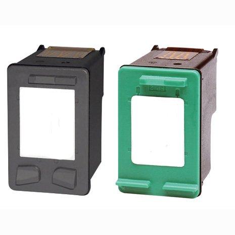 Replacement Inkjet Cartridge for HP 92 Black Inkjet Print Cartridge (C9362WN) and HP 93 Tri-color Inkjet Print Cartridge (C9361WN)