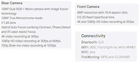 Essential Phone in Halo Gray 128 GB Unlocked Titanium and Ceramic phone with Edge-to-Edge Display