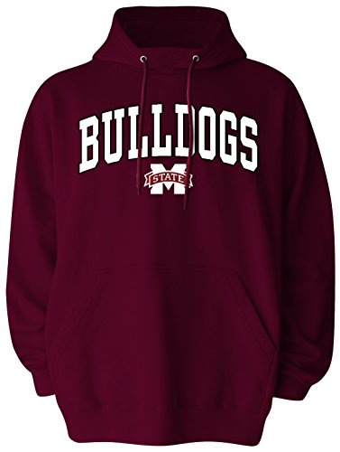 NCAA Mississippi State Bulldogs Pullover Hood, X-Large, Maroon