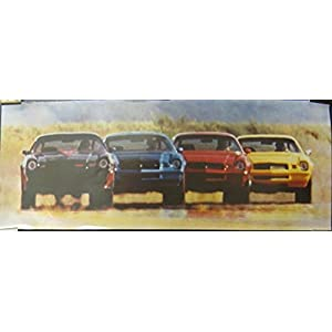 1980 Chevrolet Camaro Showroom Poster