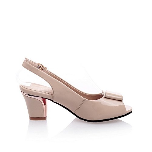 5 Ouvert Asl05148 Femme Balamasa Beige Bout 36 Abricot 07ppEqWv