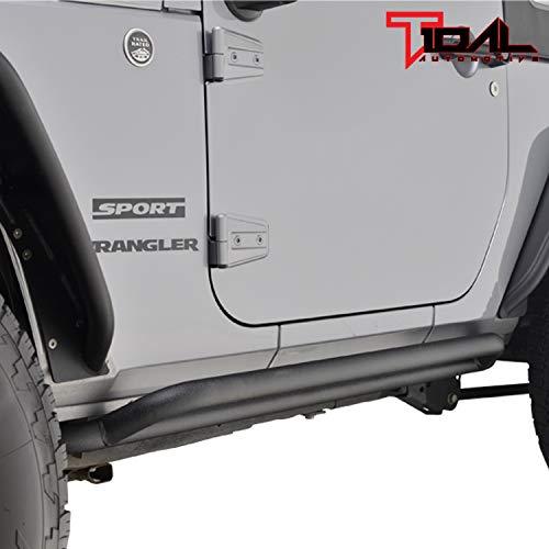 07-18 Jeep Wrangler JK 2 Door Side Armor Rock Guards