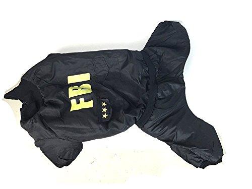 XX-Large FBI Big Dog Costume by (Xxlarge Dog Costumes)