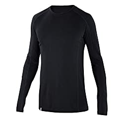 Ibex Merino Wool Men's Woolies 2 Crew Top