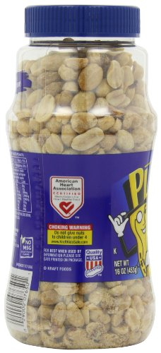 029000076501 - Planters Dry Roasted Peanuts Lightly Salted 16 oz (Pack of 12) carousel main 7