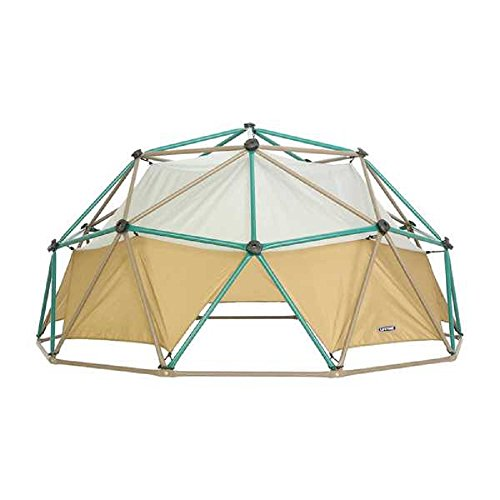 NEW! Powder-coated Steel Dome Climber with Earthtone Canopy and Real