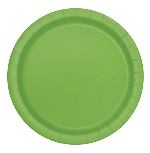 Lime Green Paper Cake Plates