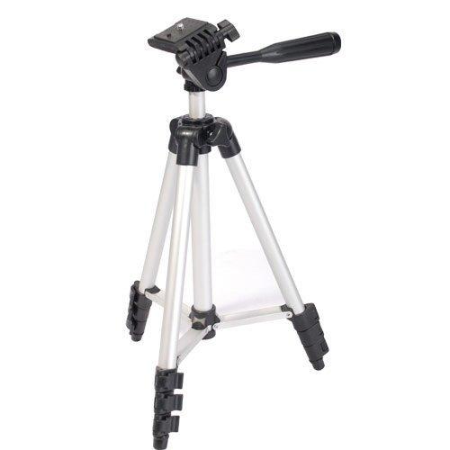 Ex-Pro Spirit Level Travel Tripod for Digital Camera - Silver
