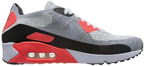 Nike Air Max 90ultra 2.0Flyknit bianco/grigio/Crimson 875943–100