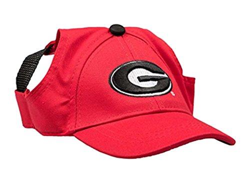 NCAA Georgia Bulldogs Pet Baseball Hat, Medium (Ncaa Dog Clothes)