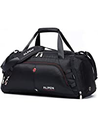 6fe68de318 Cervino Duffel - Water Resistant Durable 1680D Carry On Travel Duffel Bag  Gym Sports Bag with