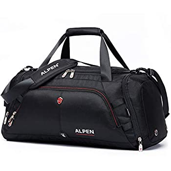Swiss Alpen water resistant gym bag