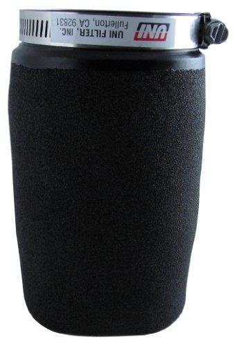Uni Filter UP5245 Black Universal Urethane Flange Straight Clamp-On Pod Filter by Uni Filter (Image #1)