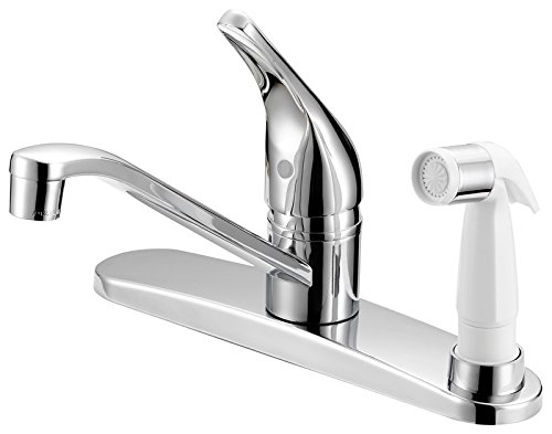 Boston Harbor FS610045CP Harbor Faucet Kitchen 8in Lever Chrm, 8