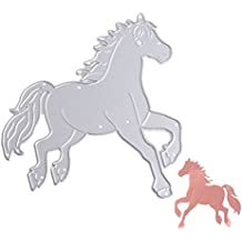 Doober Horse Cutting Dies Stencils DIY Scrapbook Album Embossing Card Paper Craft Gift