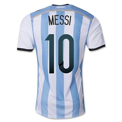 Adidas - Camiseta de Mundial de la selección argentina para niños (temporada 2014-15