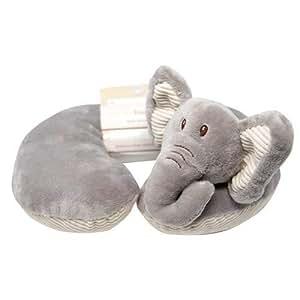Amazon Com Grey Elephant Soft Plush Baby Infant Car Seat