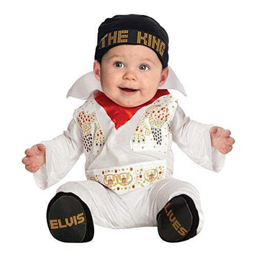 Things for Everyone 1011 Elvis Baby Costume Halloween Fancy Dress (Newborn) ()