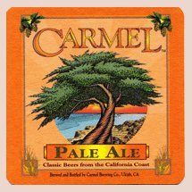 Carmel Brewing Company Paperboard Coasters - Set of 4 (Carmel Stem)
