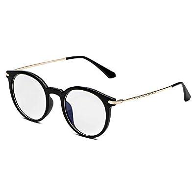 CHB Men's Women's Eyekepper Vintage Computer Glasses Anti-reflective Round Frame