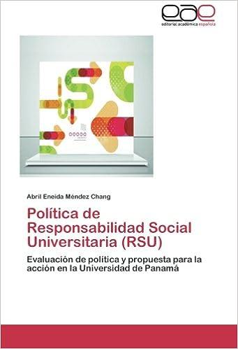 Política de Responsabilidad Social Universitaria (RSU ...